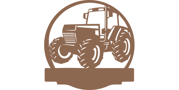 Tractor Personalized Sign