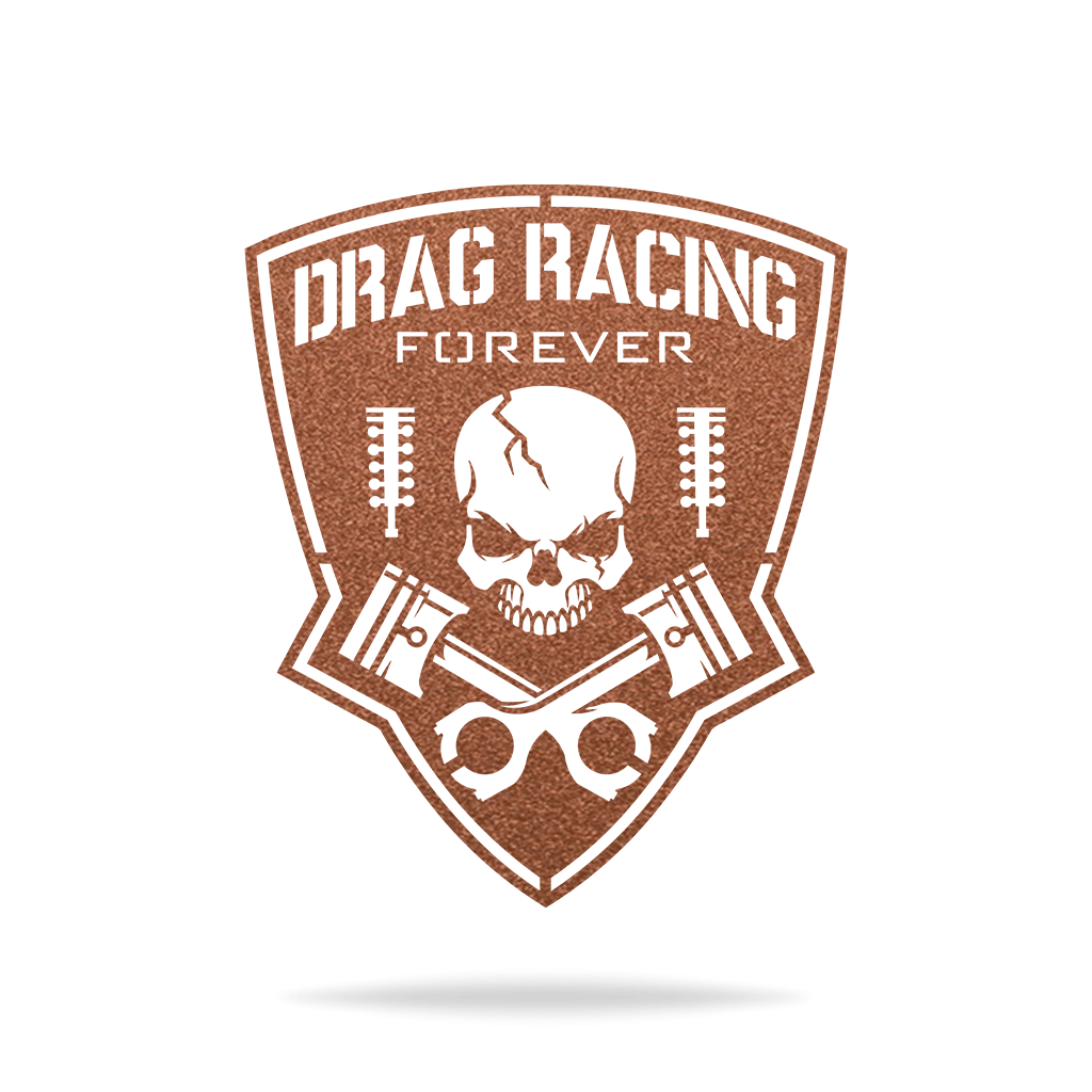 Drag Racing Forever Sign