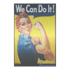 Rosie The Riveter - Steel Imagery