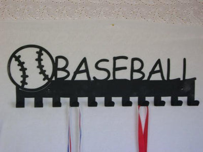 Metal Hanger - Baseball Medal Display