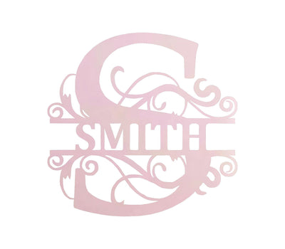 Personalized-2 - Split Letter Monogram