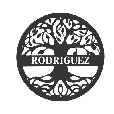 Personalized-7 - Tree Of Life Monogram
