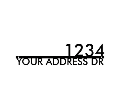 Personalized-8 - Line Address Sign
