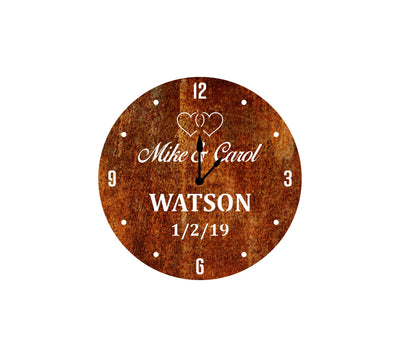 Personalized-9 - Personalized Wedding Clock