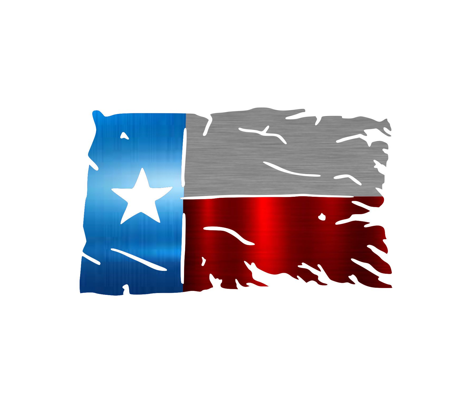 Stock - Texas Tattered Flag