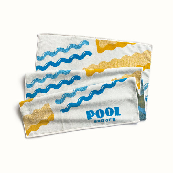 Pool Burger Towel