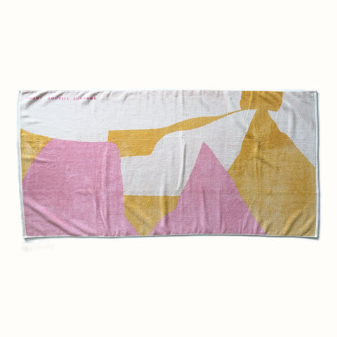 'Mount Bonnell Sundown' Towel