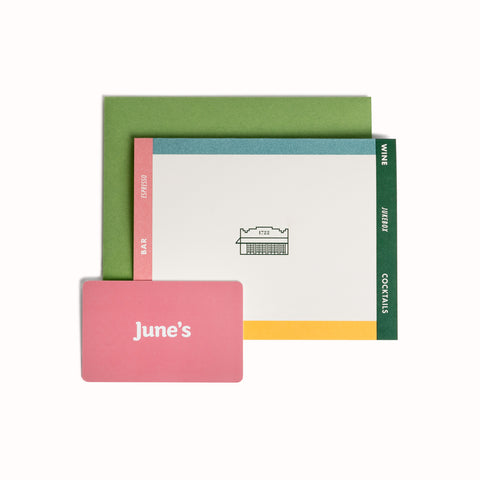 June's All Day Gift Card