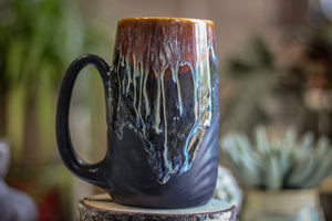09-D New Wave Textured Stein Mug, 20 oz.