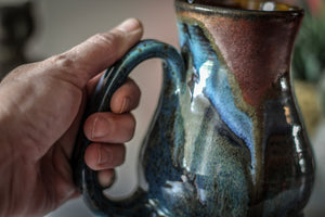 11-B Copper Agate Barely Flared Acorn Mug - TOP SHELF, 19 oz.