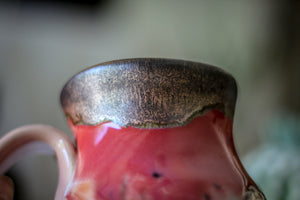 10-C Copper Agate Variation Flared Textured Mug, 18 oz.