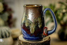Load image into Gallery viewer, 16 OLDIE Barely Flared Notched Textured Mug, 12 oz.