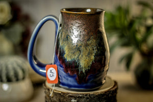 16 OLDIE Barely Flared Notched Textured Mug, 12 oz.