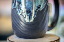 Load image into Gallery viewer, 11-D New Wave Textured Notched Mug - TOP SHELF, 18 oz.