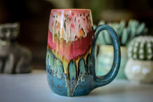 Load image into Gallery viewer, 02-A Coral Mountain Meadow Mug - TOP SHELF, 19 oz.