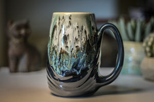 10-C Misty Meadow Textured Mug - MINOR MISFIT, 18 oz. - 5% off