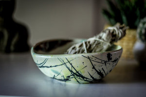 12-G EXPERIMENT Smudge Bowl