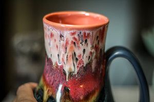 10-A Coral Mountain Meadow Barely Flared Acorn Mug - MISFIT, 20 oz. - 25% off
