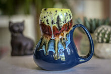 Load image into Gallery viewer, 02-A Pink Moon Gourd Mug - TOP SHELF MISFIT, 25 oz.