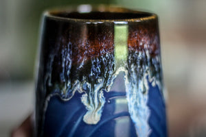 13-D Electric Wave Textured Mug, 19 oz.