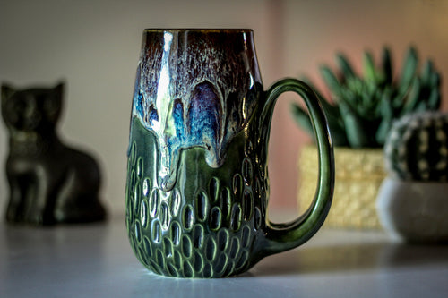 17-D EXPERIMENT Textured Mug - TOP SHELF MISFIT, 23 oz.