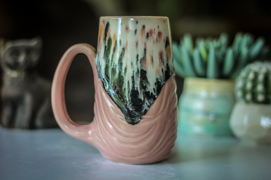 15-D Grandma's Lace Textured Mug - MISFIT, 17 oz. - 5% off