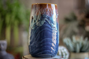 14-D New Wave Textured Mug, 21 oz.