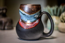 Load image into Gallery viewer, 15-B Copper Agate Gourd Mug, 20 oz.