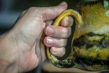 Load image into Gallery viewer, 14-E Bumble Bee Jasper PROTOTYPE Barely Flared Mug, 12 oz.