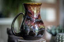 Load image into Gallery viewer, 17-B Rainbow Grotto Flared Mug - TOP SHELF, 22 oz.