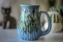 Load image into Gallery viewer, 19-D Green Mountain Barely Flared Textured Mug - MISFIT, 17 oz. - 10% off