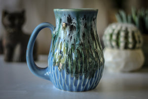 19-D Green Mountain Barely Flared Textured Mug - MISFIT, 17 oz. - 10% off