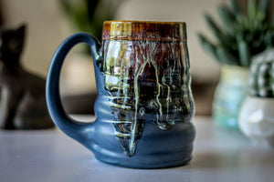 19-D New Wave Textured Stein Mug - MISFIT, 14 oz. - 10% off