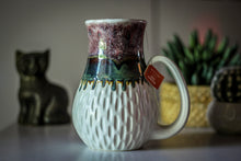 Load image into Gallery viewer, 03-C PROTOTYPE Barely Flared Notched Textured Mug, 26 oz.
