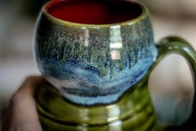 Load image into Gallery viewer, 17-E Mossy Textured Gourd Mug - MISFIT, 18 oz. - 10% off