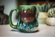 Load image into Gallery viewer, 18-C Lizard King Gourd Mug - TOP SHELF, 17 oz.
