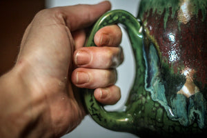 18-C Lizard King Gourd Mug - TOP SHELF, 17 oz.