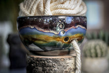 Load image into Gallery viewer, 18-B Alpine Dusk PROTOTYPE Yarn Bowl - MINOR MISFIT,  - 10% off