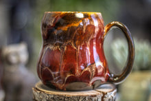 Load image into Gallery viewer, 19-E Scarlet Beauty Gourd Mug - MINOR MISFIT, 18 oz. - 10% off
