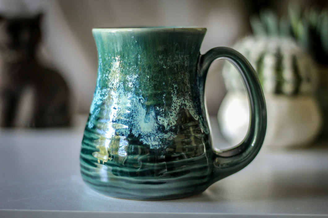 23-G EXPERIMENT Barely Flared Textured Mug, 13 oz.