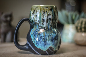 22-A Champlain Shale Gourd Mug - TOP SHELF, 19 oz.