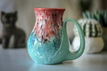 Load image into Gallery viewer, 03-D Coral Meadow Flared Mug - MISFIT, 16 oz. - 5% off