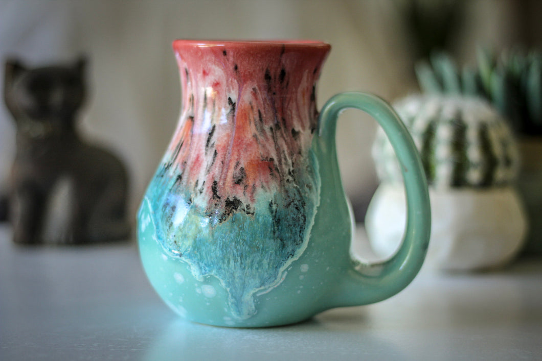 03-D Coral Meadow Flared Mug - MISFIT, 16 oz. - 5% off