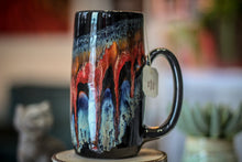 Load image into Gallery viewer, 21-A Fire & Ice Notched Stein Mug, 19 oz.