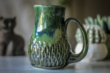 Load image into Gallery viewer, 26-E PROTOTYPE Barely Flared Textured Mug, 17 oz.