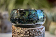 Load image into Gallery viewer, 23-B Moss Agate Bowl, 17 oz.