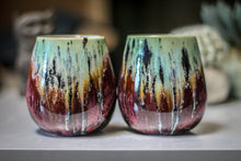 Load image into Gallery viewer, 03-C Alpine Meadow Wine Cup Pair - MISFIT, 12 oz. - 30% off