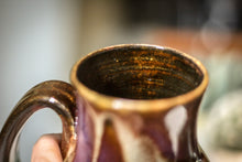 Load image into Gallery viewer, 24-E Molten Beauty Barely Flared Mug, 18 oz.