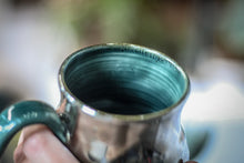 Load image into Gallery viewer, EXPERIMENT AUCTION #27 Barely Flared Spiral Mug - MISFIT, 13 oz.