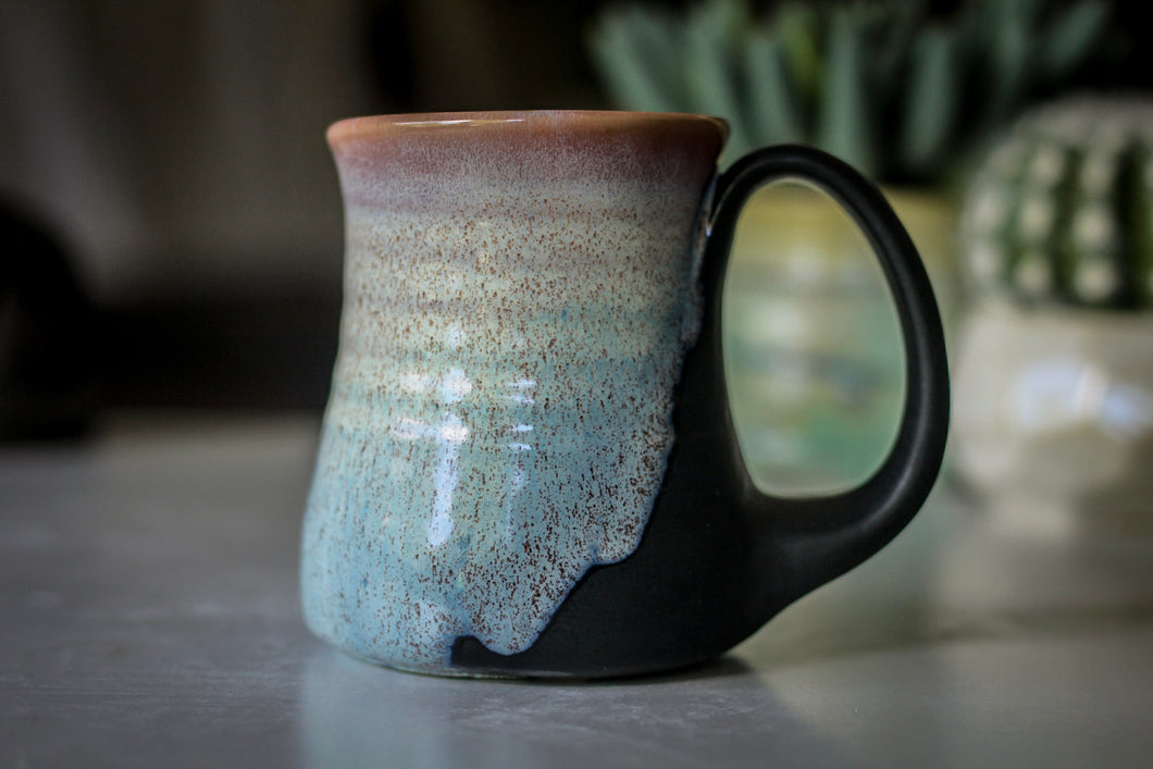29-E EXPERIMENT Barely Flared Textured Mug - MISFIT, 8 oz. - 20% off